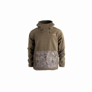 Nash ZT Husky Fleece Hoody vert - brun - camo  Large