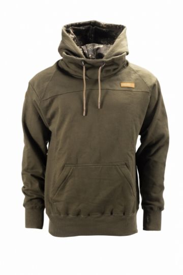 Nash ZT Snood Hoody groen vistrui Medium