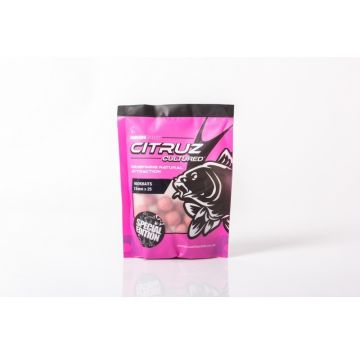 Nashbait Citruz Cultured Hookbaits roze karper boilie 15mm