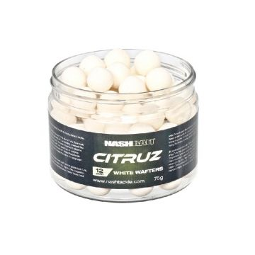 Nashbait Citruz Wafters wit karper pop-up boilies 12mm
