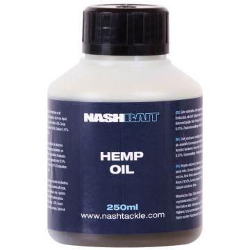Nashbait Hemp Oil bruin - zwart aasdip 250ml