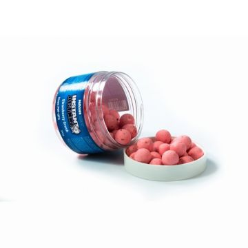 Nashbait Instant Action Pop Ups Strawberry Crush roze karper pop-up boilies 12mm