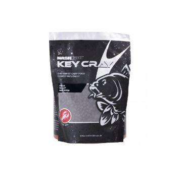 Nashbait Key Cray Feed Pellet ZWART vispellets 6mm