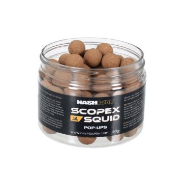 Nashbait Scopex Squid Airball Pop ups bruin karper pop-up boilies 12mm