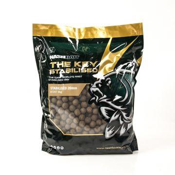 Nashbait The Key Stabilised bruin karper boilie 15mm 1kg