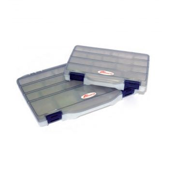 Panaro Tacklebox Slimlock grijs roofvis visdoos Medium
