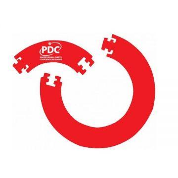 PDC Europe 4pcs. Eva Surround rood