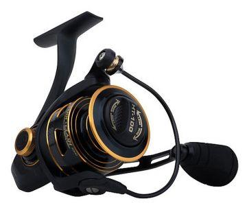 Penn Clash zwart - goud - zilver zeevis zeemolen 6000