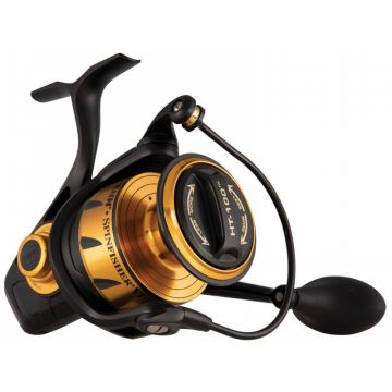 Penn Spinfisher VI zwart - goud zeevis zeemolen 6500