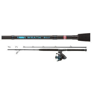 Penn Wrath Boat Combo zwart - blauw zeevis strandhengelset 2m10 30-50lb 6000
