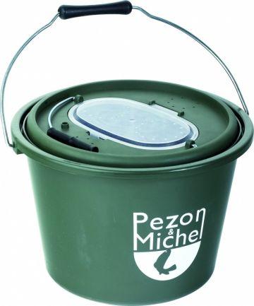 Pezon & Michel Aasvis Emmer P&M vert - blanc  12l