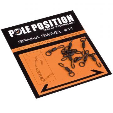 Pole Position Spinna Swivel nickel karper klein vismateriaal 11