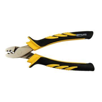Predator Crimping Pliers zilver - geel - zwart tang & schaar 14cm