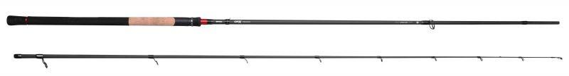 Predator CRX Softbait zwart - bruin - grijs zeevis zeebaarshengel 2m90 10-30g