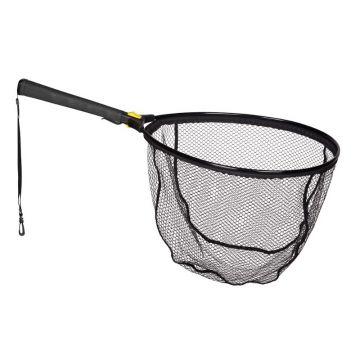 Predator Folding Float Net zwart - geel roofvis visschepnet 50x50x40cm
