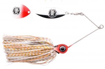 Predator IRIS Ambush Junior Spinnerbait red head tiger roofvis spinnerbait 15cm 18g
