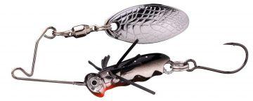 Predator Larva Micro Spinnerbait roach roofvis spinnerbait 4cm 7g Single 10