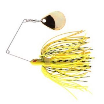 Predator Micro Ringed Spinnerbait chartreuse belly roofvis spinnerbait 8cm 5g