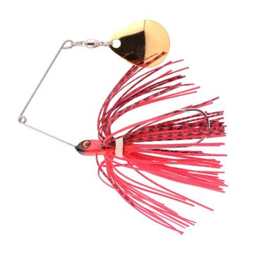 Predator Micro Ringed Spinnerbait fire claw roofvis spinnerbait 8cm 5g