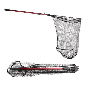 Predator PowerCatcher Fold & Clip Net zwart - rood roofvis visschepnet 1m70