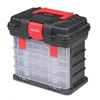 Predator PowerCatcher Lure Tower rood - zwart - clear viskoffer