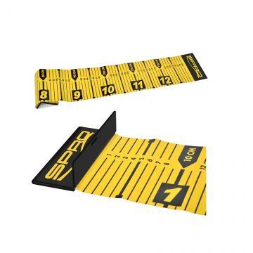 Predator Ruler 130cm zwart - geel meetlat
