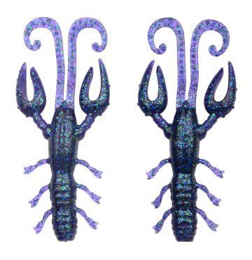 Predator Scent Series Insta Craw blueberry roofvis creature bait 9cm