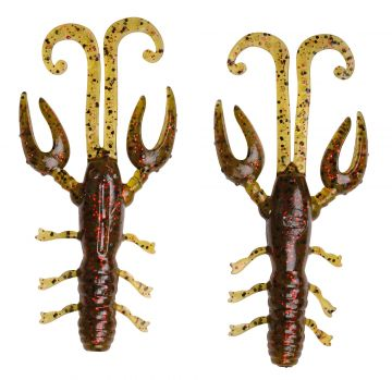 Predator Scent Series Insta Craw pumpkin fire roofvis creature bait 6.5cm