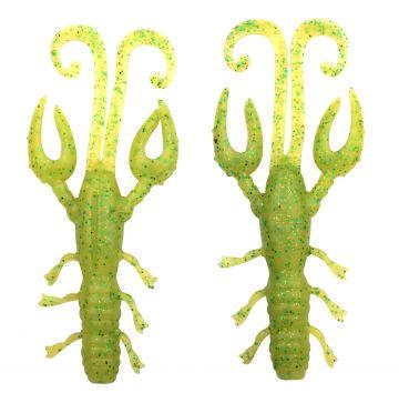 Predator Scent Series Insta Craw wasabi special roofvis creature bait 9cm