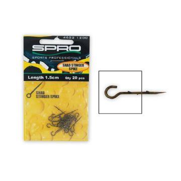 Predator Stinger Spike nickel roofvis klein vismateriaal 25mm