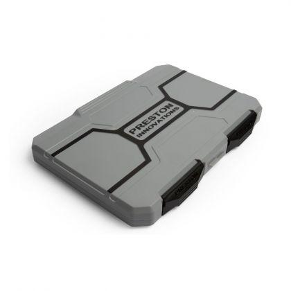 Preston Innovations Absolute All-Round Hooklength Box zwart - grijs visdoos