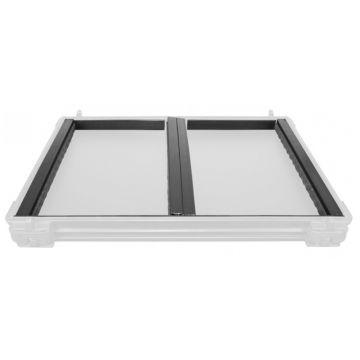Preston Innovations Absolute Divider Kit zwart - grijs onderlijn plankje 18cm