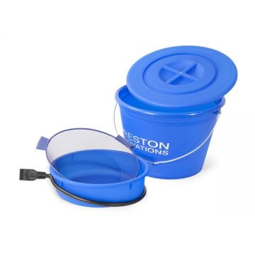 Preston Innovations Bucket And Bowl Set noir - blue