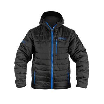 Preston Innovations Celcius Puffer Jacket zwart - blauw visjas Medium