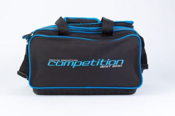 Preston Innovations Competition Bait Bag zwart - blauw foreltas witvistas