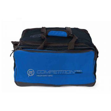 Preston Innovations Competition Pro Mega Bait Bag zwart - blauw foreltas witvistas