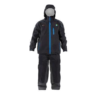 Preston Innovations DF30 Suit zwart - blauw visjas Xx-large