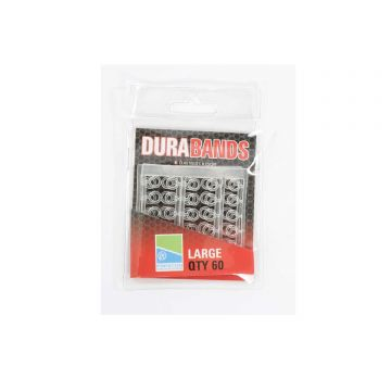 Preston Innovations Dura Bands clear klein vismateriaal Large