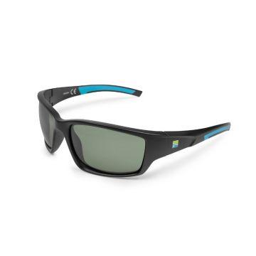 Preston Innovations Floater Pro Polarised Sunglasses zwart - groen viszonnenbril