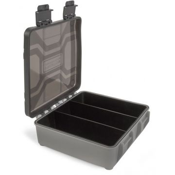 Preston Innovations Hardcase Accessory Box grijs - zwart visdoos