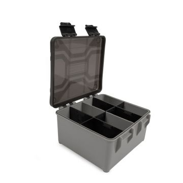 Preston Innovations Hardcase Accessory Box grijs - zwart visdoos X-large