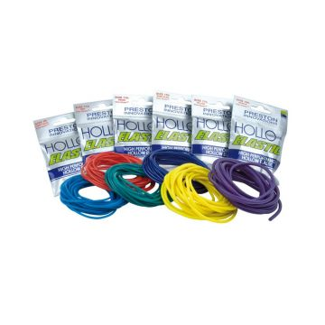 Preston Innovations Hollo Elastic geel witvis viselastiek Size 17 3m