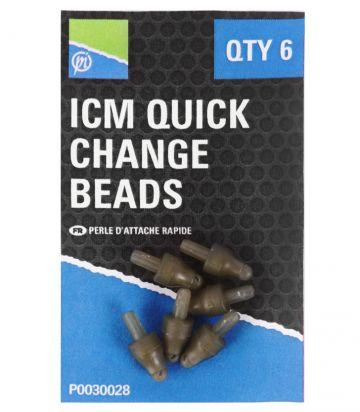 Preston Innovations ICM Quick Change Bead bruin klein vismateriaal