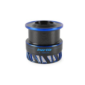 Preston Innovations Inertia Spool 320 zwart - blauw vismolen