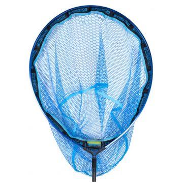 "Preston Innovations Latex Carp Landing Net zwart - blauw visschepnet 18"" - 45cm"