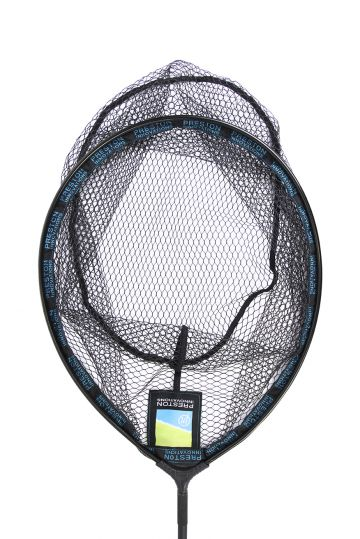 "Preston Innovations Latex Carp Landing Net zwart visschepnet 18"" - 45cm"