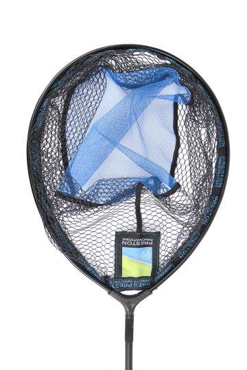 """Preston Innovations Latex Match Landing Net zwart visschepnet 22"""" - 55cm"""