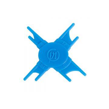 Preston Innovations Loop Sizer blauw klein vismateriaal