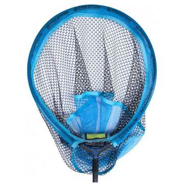 """Preston Innovations Match Landing Net zwart - blauw visschepnet 18"""" - 45cm"""
