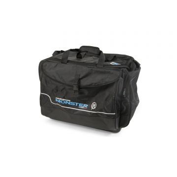 Preston Innovations Monster Carryall zwart foreltas witvistas